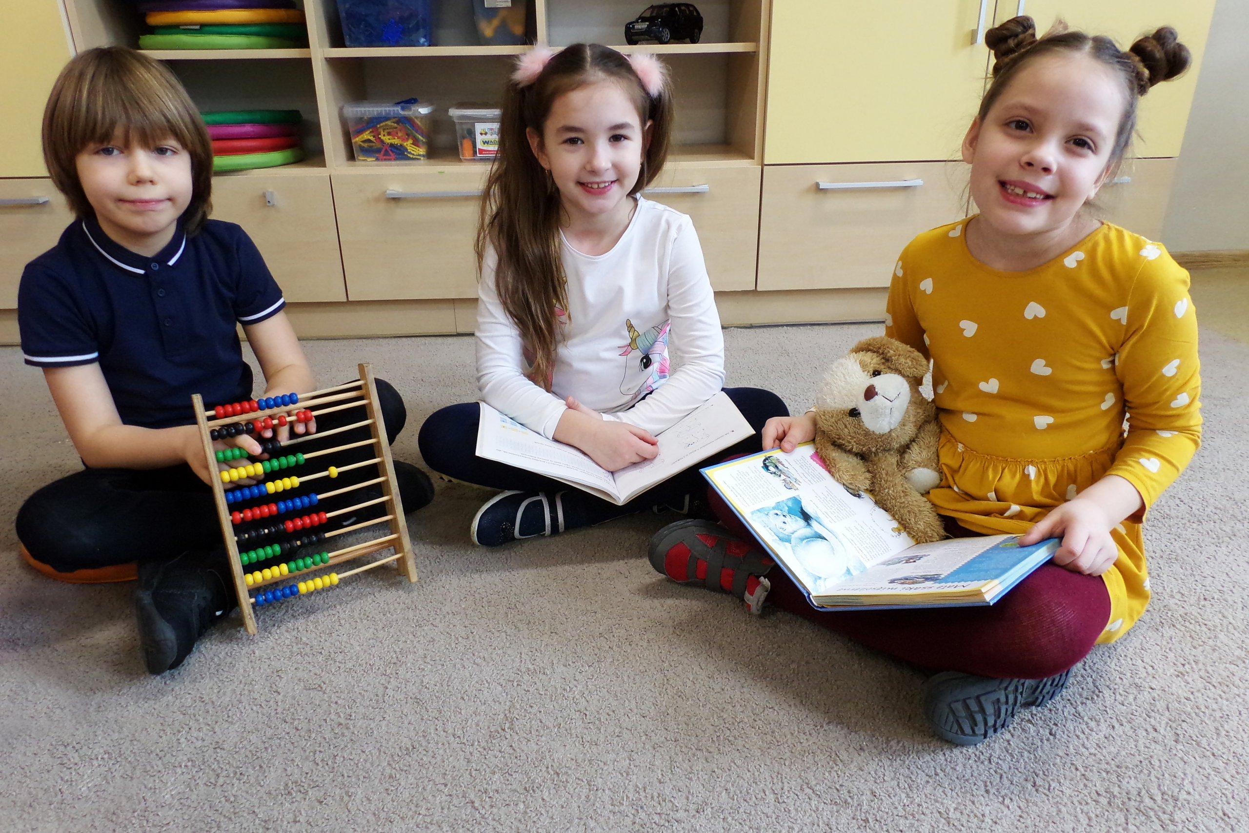 dzieci wświetlicy szkolnej